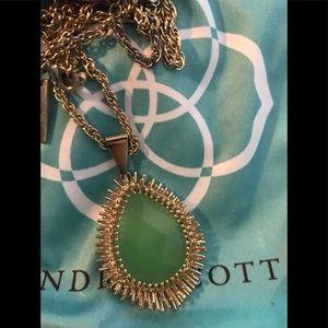 Jewelry - Kendra Scott Chalcedony Ellis Long Necklace